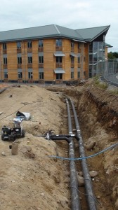District Heating Network Piping