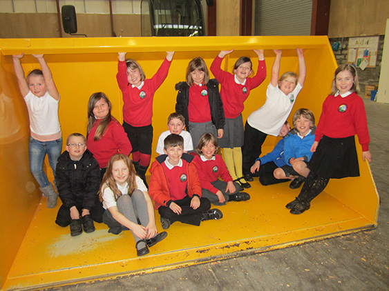 Second Visit for Hill of Banchory Primary School – 05/03 ...